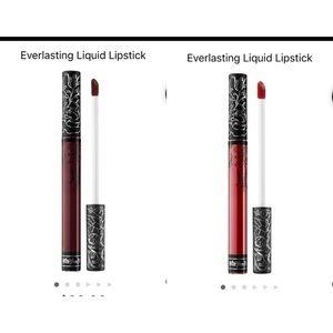 NEW Kat Von D TWO Everlasting  Lipsticks